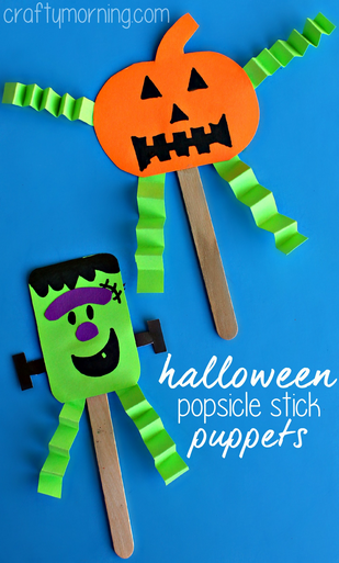 halloween-popsicle-stick-puppet-craft-for-kids