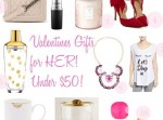 valentine's gift guides for both HIM & HER are up on the blog! so many pretty & fun ideas for both!  {link in profile}