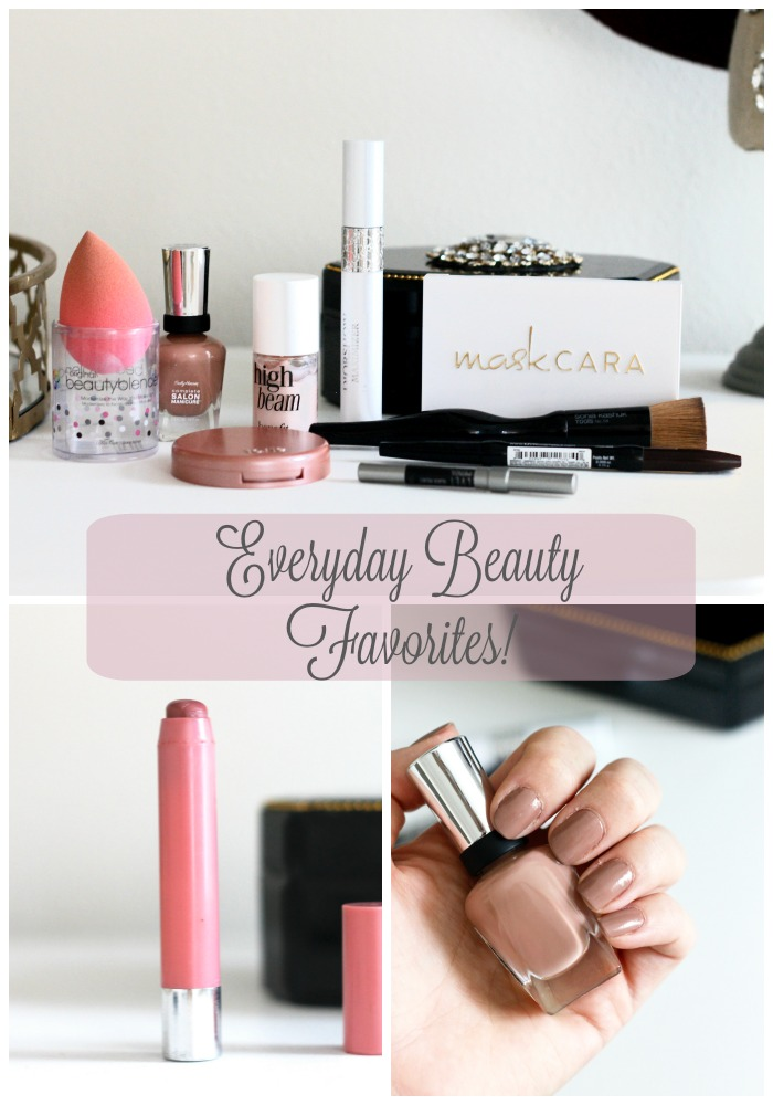 Everyday Beauty Favorites | Belle Vie