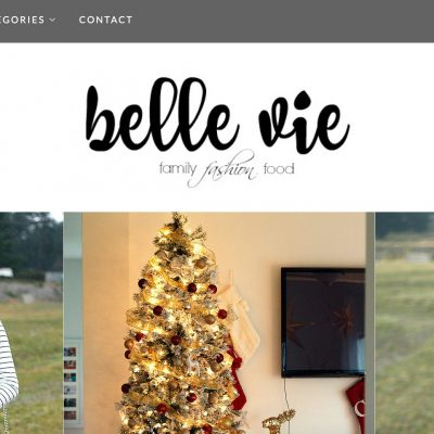 Welcome to Belle Vie!