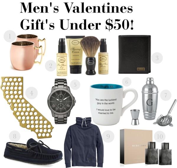 Men's Valentines Gift's Under $50!