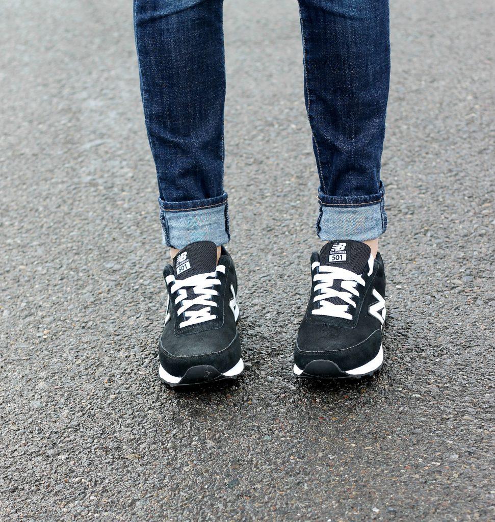 Black & White Sneaker Style | Belle Vie