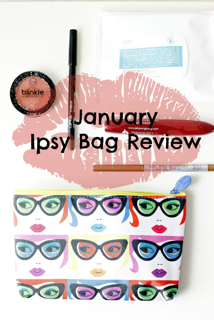 January Ipsy Bag Review