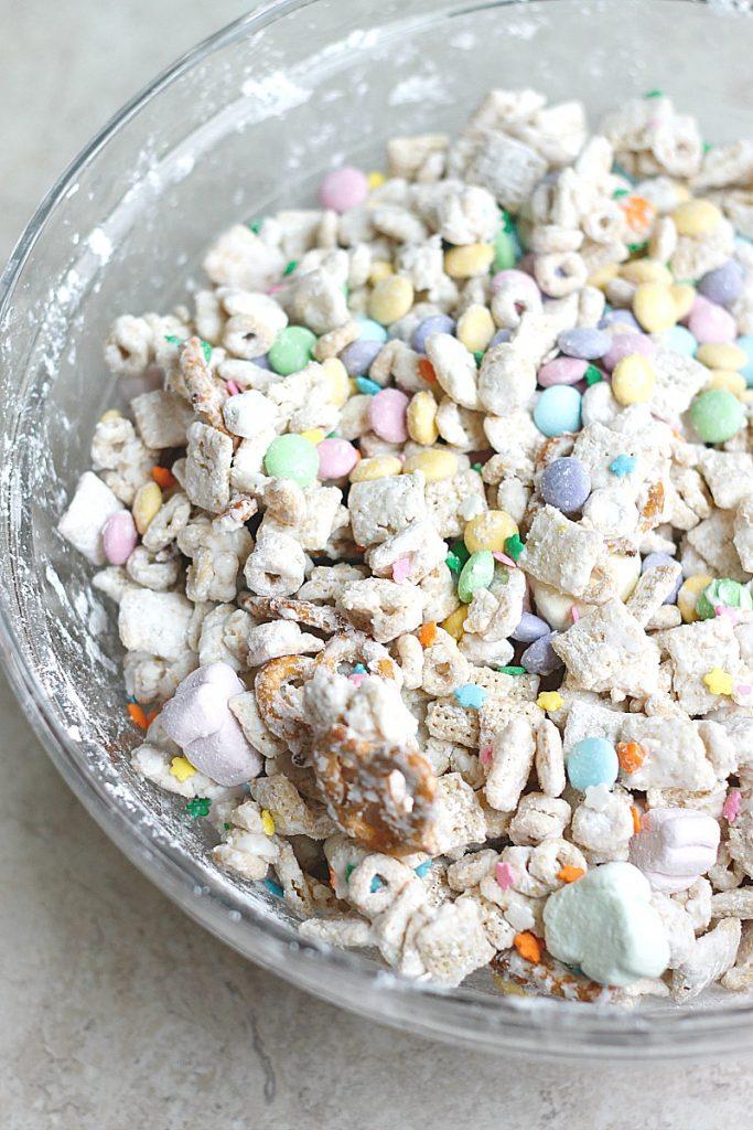 Easter Bunny Snack Mix   Belle Vie Blog