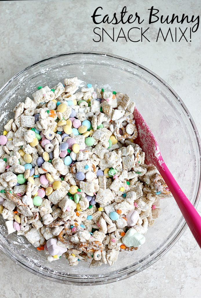 Easter Bunny Snack Mix | Belle Vie Blog