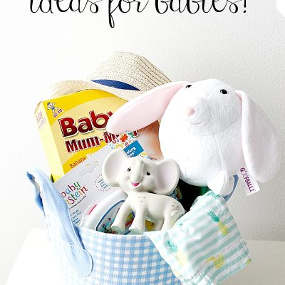Easter Basket Ideas for Babies!