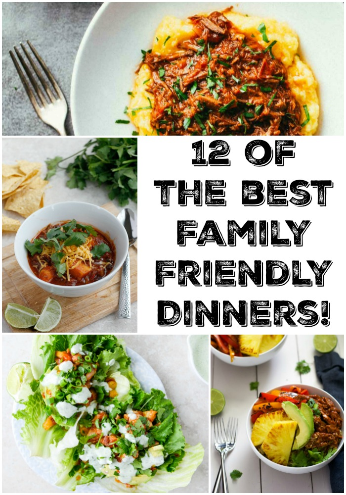 12 of the BEST Family Friendly Dinners!