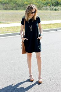 Must Have Easy T-shirt Dress