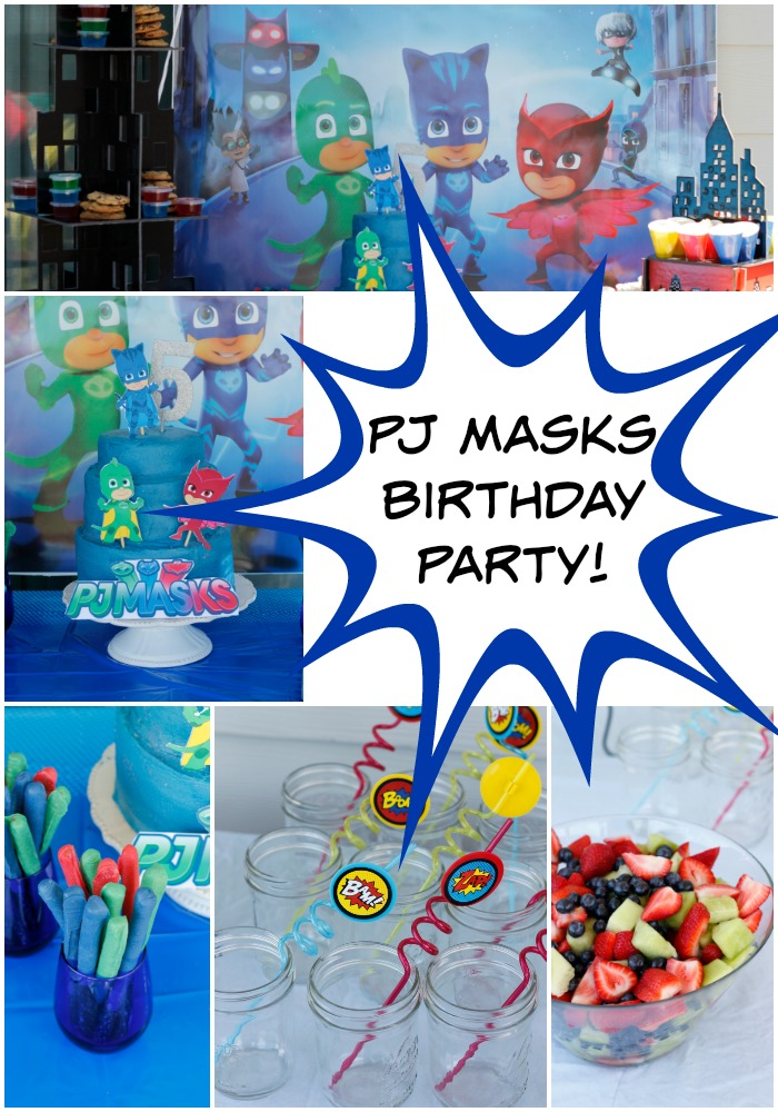 PJ Masks Birthday Party!