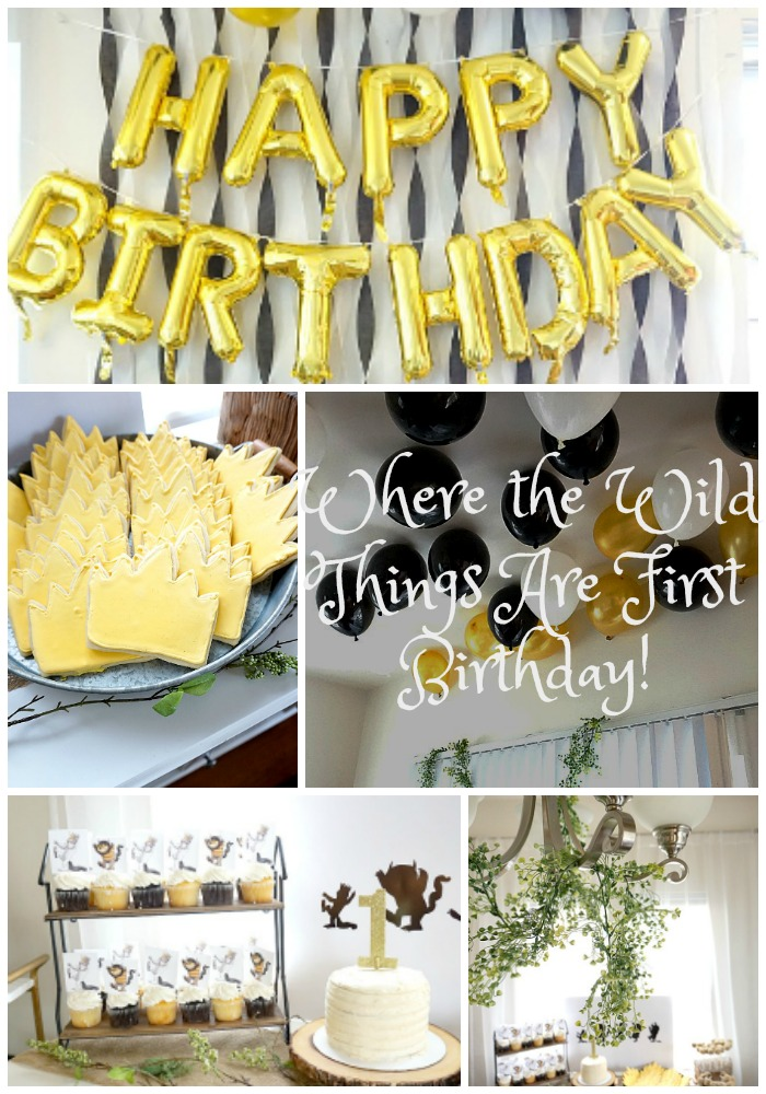 Where the Wild Things Are First Birthday!!