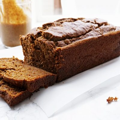 Pumpkin Banana Bread {Whole Wheat}