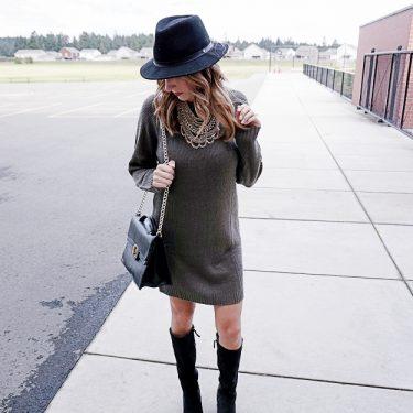 Sweater Dress Style