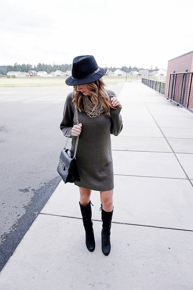 Sweater Dress Style