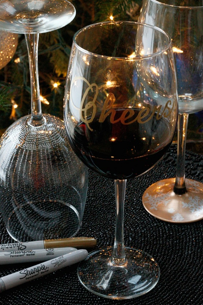 DIY Wine Glasses!