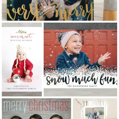 Holiday Card Ideas {& a Minted giveaway!}