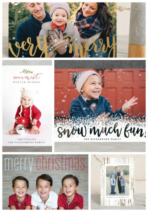 Holiday Cards Ideas {& a giveaway!}