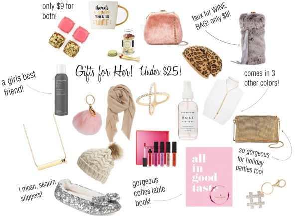 Gifts For Her, Under $25!!