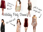 Holiday Party Dresses!