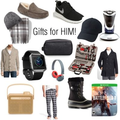 Holiday Gift Guide, For Him!