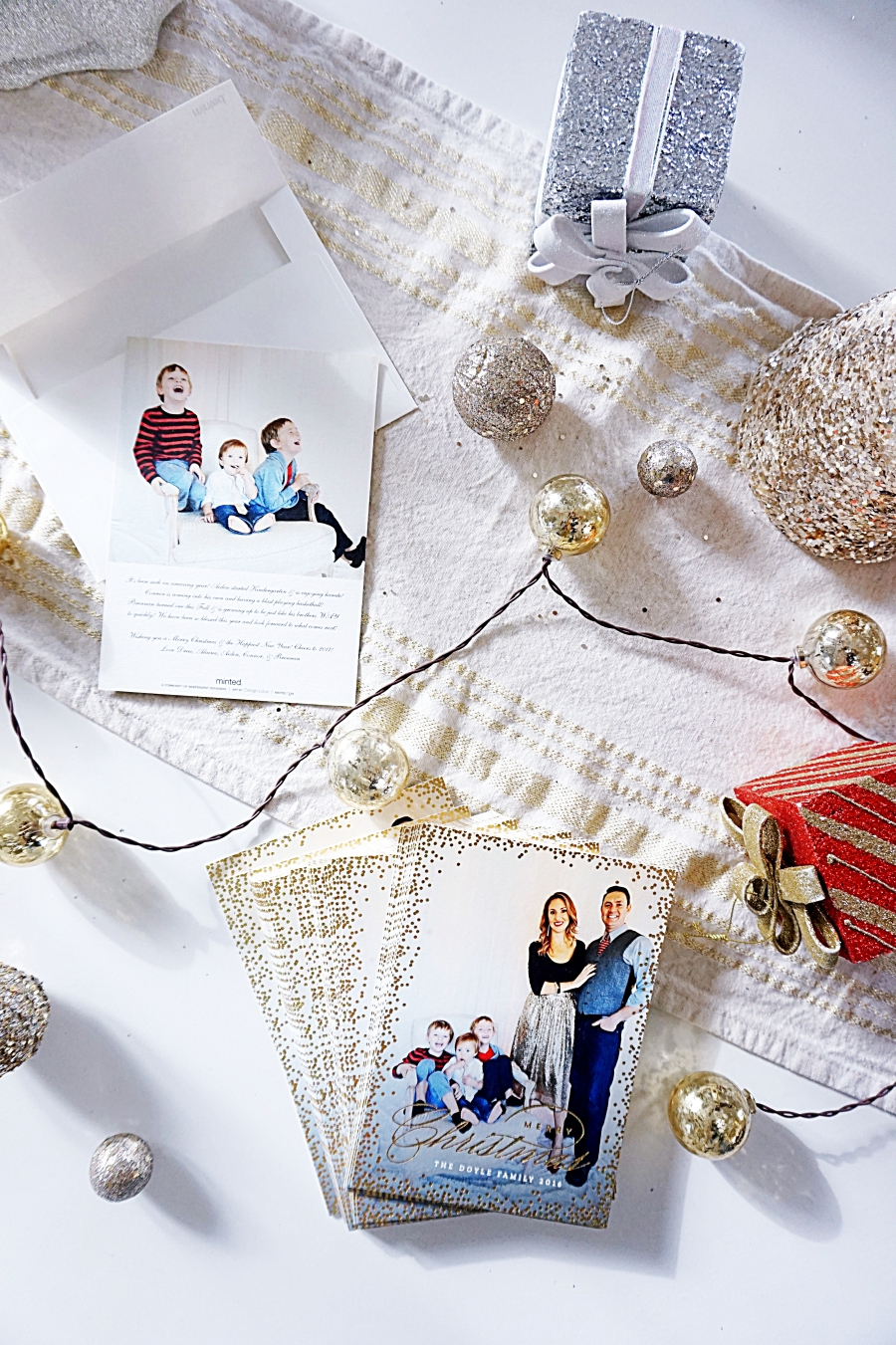 Family Photos and Our Christmas Cards