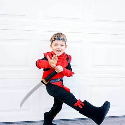 A Ninja Party to Celebrate my sons 4th Birthday!