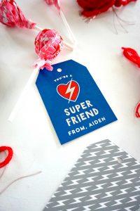 Superhero Classroom Valentine Cards!