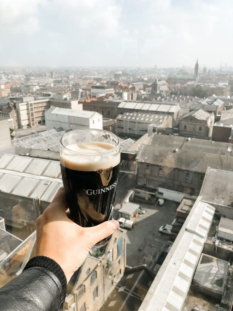 Gravity Bar, Guinness Storehouse, Dublin Ireland