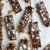 Dark Chocolate Coconut Granola Bars (Healthy!)