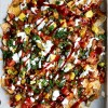 (Seriously loaded!) BBQ Chicken Nachos